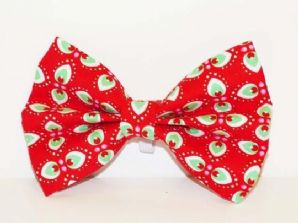 Mabel & Mu Pet Bow Tie - Peppermint Cream - from